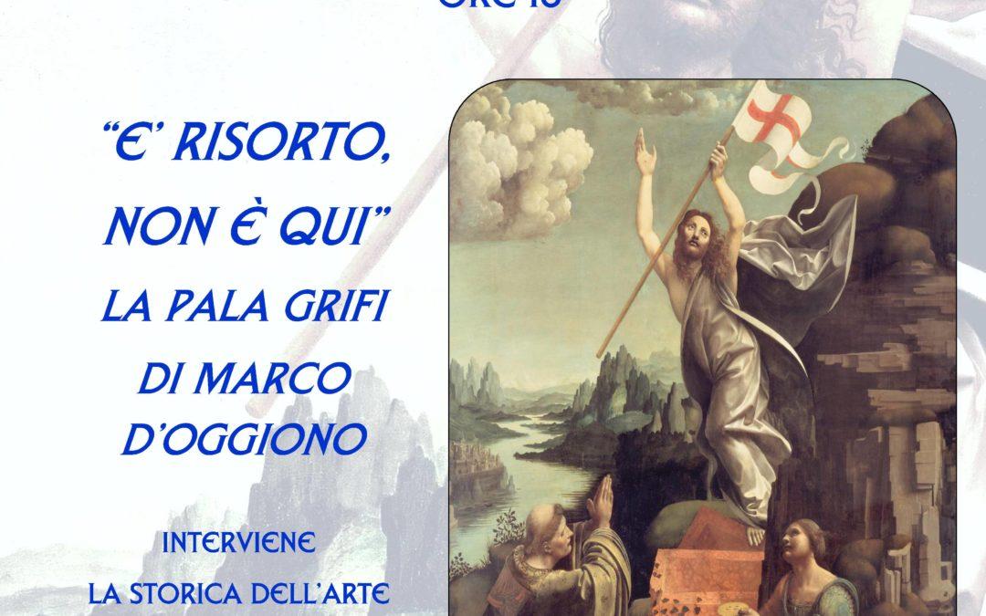 Pomeriggi d'Arte: La Pala Grifi di Marco d'Oggiono