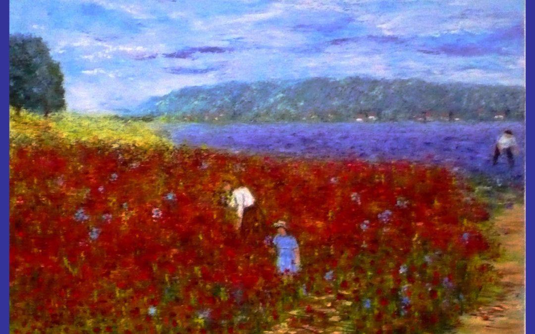 Monique Laville:  art, souvenir et nostalgie sont l'essence même de la vie
