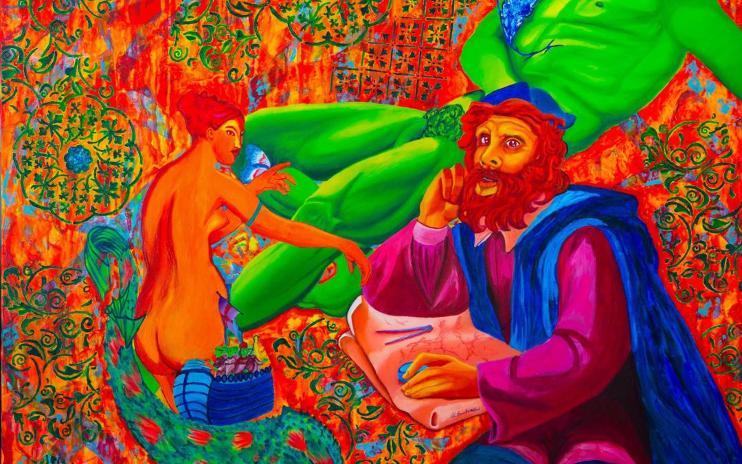 La chanson de Frida e La leggenda di San Brendano: le opere di Mariangela Bombardieri per Art Capital 2017