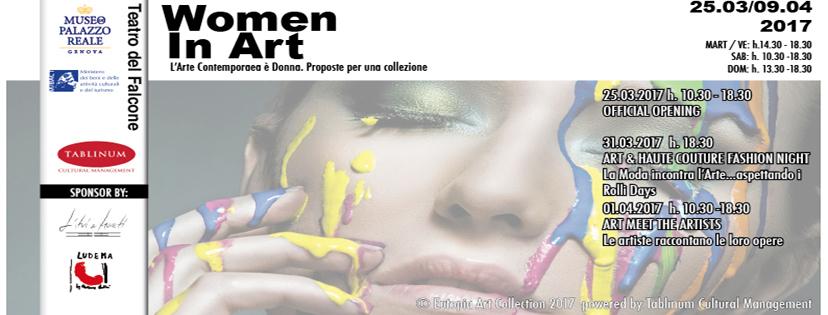 Women in Art. L'Arte Contemporanea è Donna!