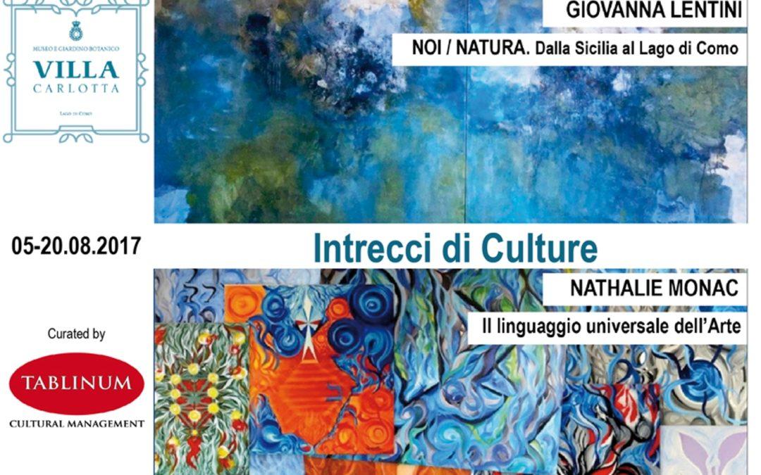 Intrecci di Culture: Nathalie Monac e Giovanna Lentini a Villa Carlotta
