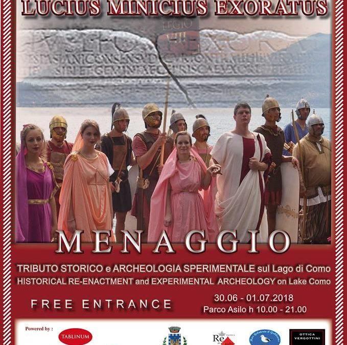 Tributo Storico Lucius Minicius Exoratus 2018