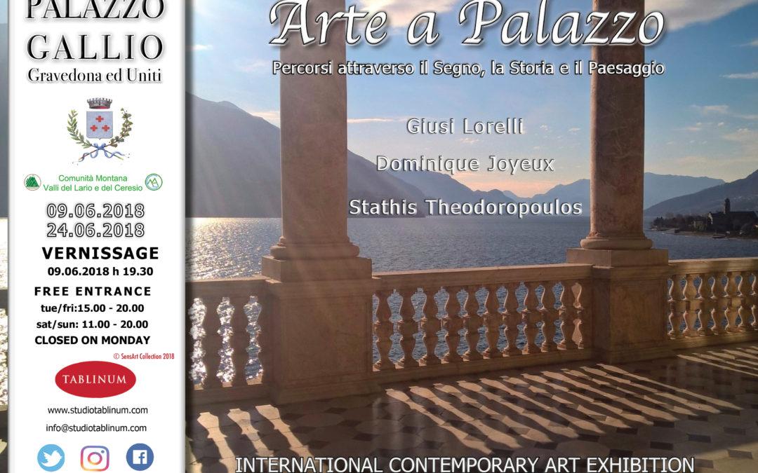 SensArt: Arte a Palazzo. IIa Edizione