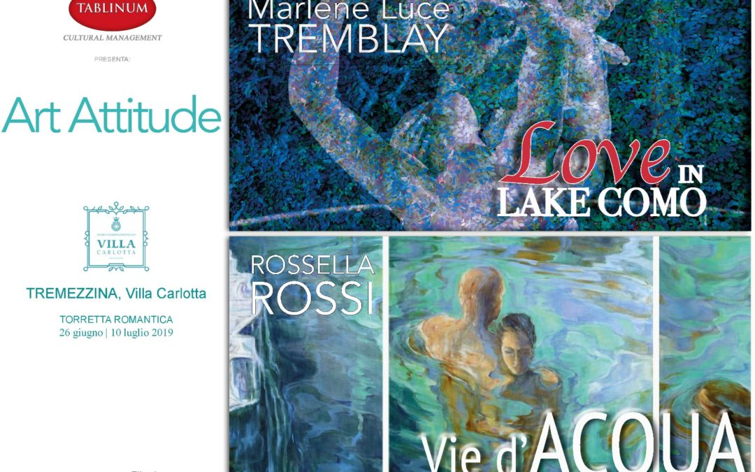 ArtAttitude: Love in Lake Como – Vie d'Acqua